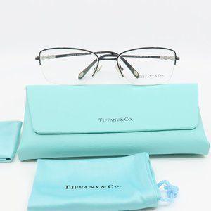 TF 1109-H-B 6097 Tiffany & Co Black Semi-Rimless